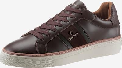 GANT Sneaker 'Mc Julien' in dunkelbraun / gold / schwarz, Produktansicht