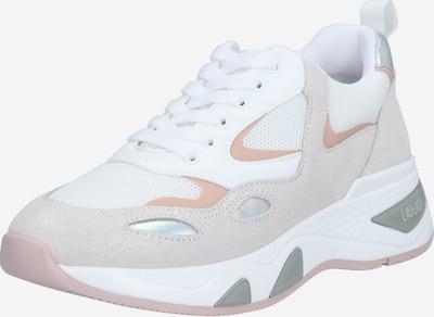 Sneaker bassa 'HOA 1' Liu Jo di colore grigio chiaro / rosa antico / bianco, Visualizzazione prodotti