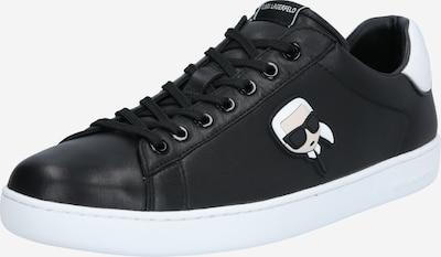 Karl Lagerfeld Sneakers laag 'KOURT II' in de kleur Beige / Zwart / Wit, Productweergave