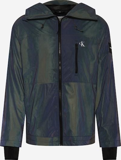 Calvin Klein Jeans Tussenjas in de kleur Donkergroen, Productweergave