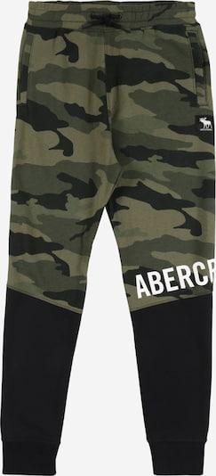 Kelnės iš Abercrombie & Fitch , spalva - rusvai žalia / alyvuogių spalva / juoda, Prekių apžvalga