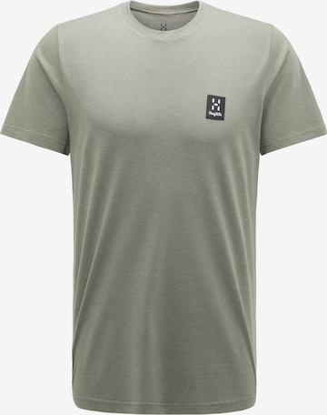 T-Shirt fonctionnel Haglöfs en gris