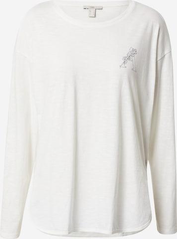 EDC BY ESPRIT Skjorte i hvit