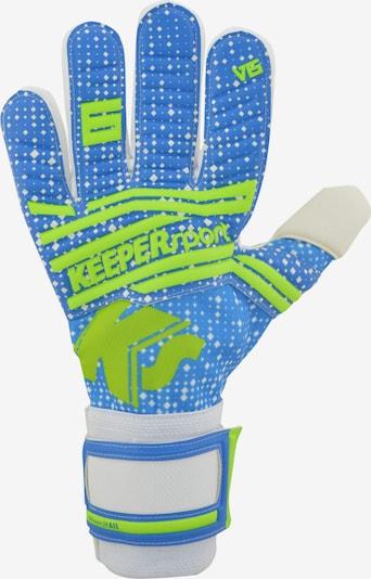 KEEPERsport Torwarthandschuh in blau, Produktansicht
