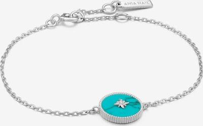 Ania Haie Armband in türkis / silber, Produktansicht