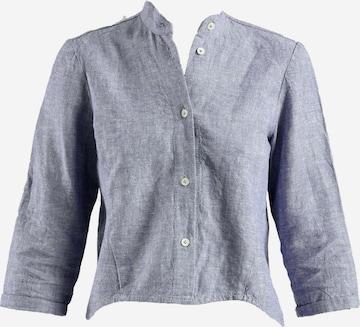 Gessica 3/4-Arm-Shirt in Blau
