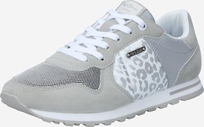 Pepe Jeans Baskets basses 'VERONA' en gris argenté / noir / argent / blanc, Vue avec produit