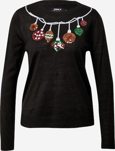 ONLY Džemperis jauktu krāsu / melns, Preces skats