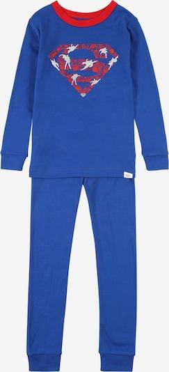 GAP Schlafanzug in royalblau / melone / weiß, Produktansicht