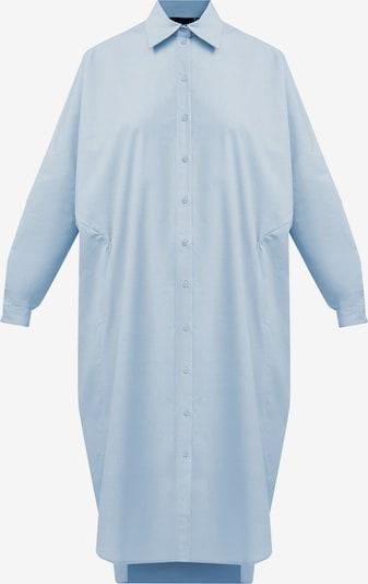 Finn Flare Hemdblusenkleid in hellblau, Produktansicht