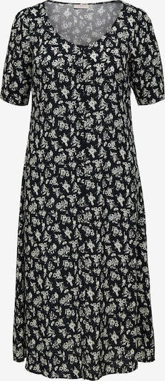 ONLY Carmakoma Kleid 'Lowly' in schwarz / weiß, Produktansicht