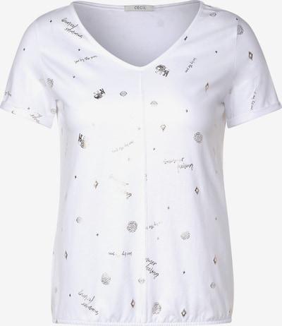 CECIL T-Shirt in weiß, Produktansicht