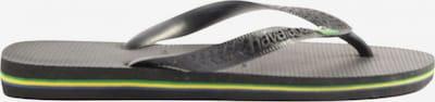 HAVAIANAS Dianette-Sandalen in 37 in pastellgelb / grün / schwarz, Produktansicht