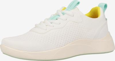 Legero Sneaker in hellblau / neongelb / weiß, Produktansicht
