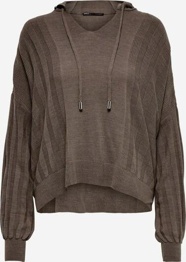 ONLY Sweatshirt in dunkelbraun, Produktansicht