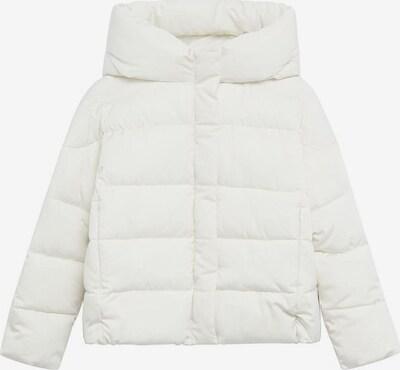 MANGO KIDS Winterjas 'Pekin' in de kleur Wit: Vooraanzicht