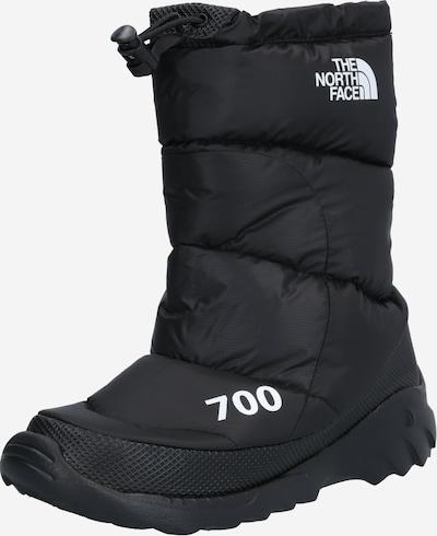 THE NORTH FACE Kozačky 'Nuptse 700' - černá / bílá, Produkt