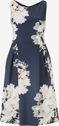 heine Robe de cocktail en bleu / blanc, Vue avec produit
