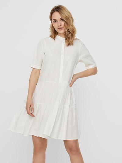 VERO MODA Kleid  'DELTA' in weiß, Modelansicht
