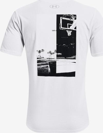 UNDER ARMOUR Kurzarm-Shirt ' Basket ' in weiß, Produktansicht