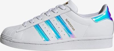 ADIDAS ORIGINALS Zemie brīvā laika apavi 'Superstar', krāsa - jauktu krāsu / balts, Preces skats