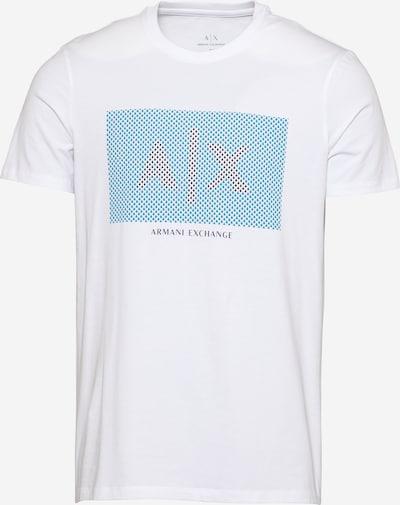 tengerészkék / égkék / fehér ARMANI EXCHANGE Póló, Termék nézet