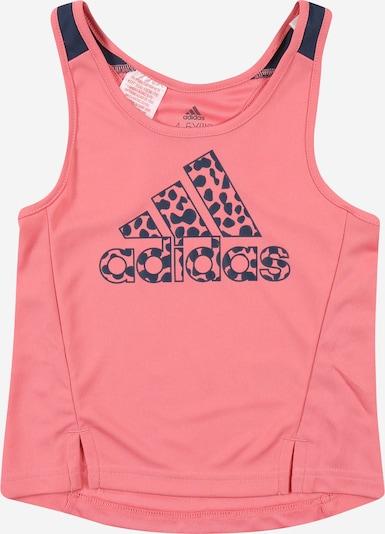 ADIDAS PERFORMANCE Shirt 'LEO' in navy / rosa, Produktansicht