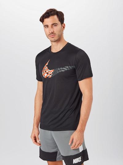 NIKE Funkční tričko 'Legend' - oranžová / černá: Pohled zepředu