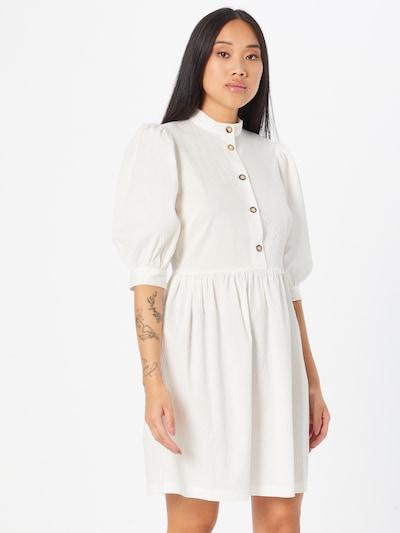 Closet London Kleid in weiß, Modelansicht