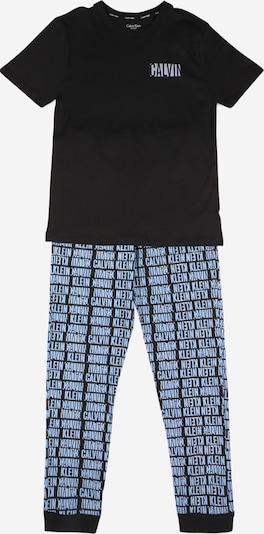 Miego kostiumas iš Calvin Klein Underwear , spalva - šviesiai mėlyna / juoda, Prekių apžvalga
