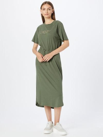 DKNY Kleid in gold / oliv, Modelansicht