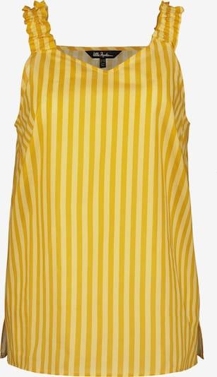 Ulla Popken Blouse in de kleur Geel / Lichtgeel, Productweergave