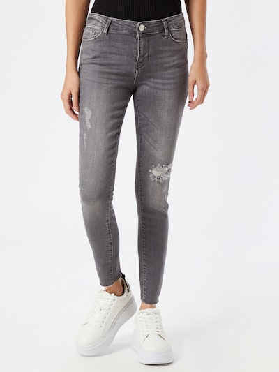 ONLY Jeans 'Carmen' in grey denim, Modelansicht