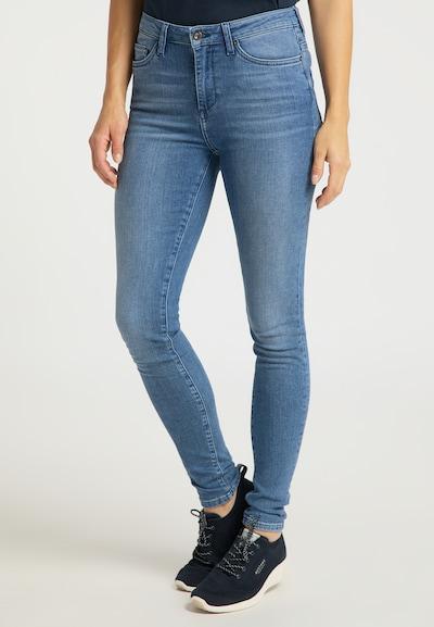 MUSTANG Hose ' Zoe Super Skinny ' in blau, Modelansicht