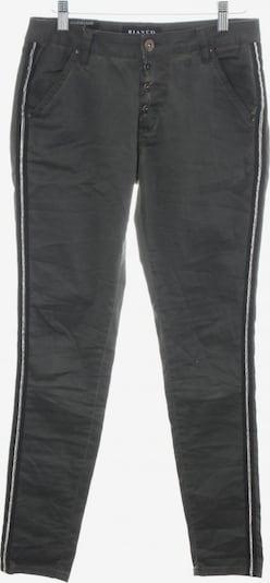 Bianco Stoffhose in XS in schwarz: Frontalansicht