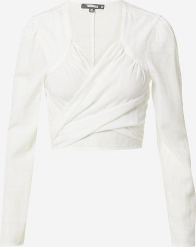 Bluză Missguided pe alb, Vizualizare produs