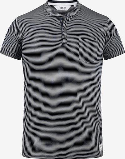 !Solid Rundhalsshirt 'Alfi' in blau / mischfarben, Produktansicht