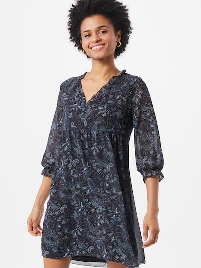 Hailys Kleid 'Carlotta' in blau / schwarz / weiß, Modelansicht
