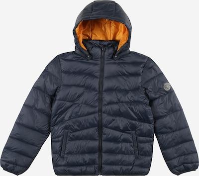 NAME IT Övergångsjacka 'Mobi' i mörkblå / orange, Produktvy