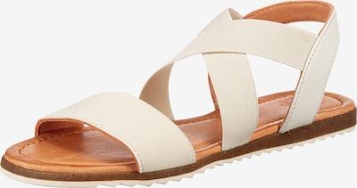 Apple of Eden Sandale in offwhite, Produktansicht