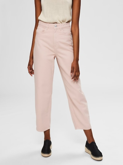 SELECTED FEMME Jeans in rosa, Modelansicht