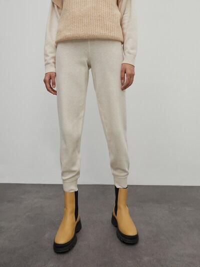 Pantaloni 'Giona' EDITED pe offwhite, Vizualizare model