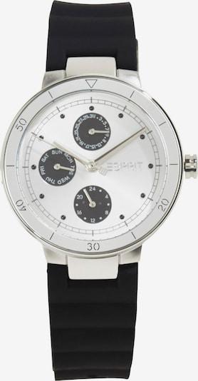 ESPRIT Analoog horloge in de kleur Zwart / Zilver, Productweergave