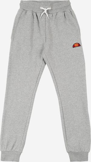 ELLESSE Pantalon 'Colino' en gris chiné / blanc, Vue avec produit