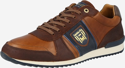 PANTOFOLA D'ORO Sneakers low 'UMITO UOMO' in blue / brown / cognac, Item view