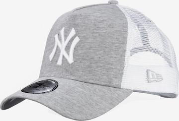 NEW ERA Cap 'Forty Trucker New York Yankees' in Grey