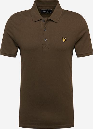 Lyle & Scott Shirt in de kleur Ombergrijs / Geel, Productweergave