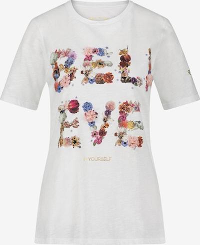 Frogbox T-Shirt 'BELIEVE' in weiß, Produktansicht