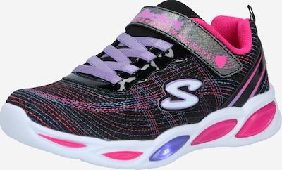 SKECHERS Superge | turkizna / majnica / roza / črna / bela barva, Prikaz izdelka