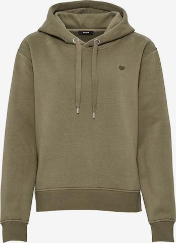 OPUS Sweatshirt 'Gadira' in Grün